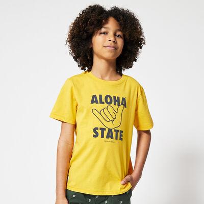 T-shirt Aloha State Print