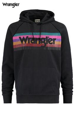 Sweat a capuche Logo Wrangler Hoodie