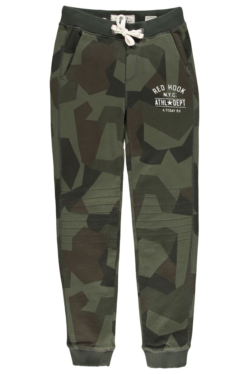 4db883e49be7 Boys Jogging pants Chester Camo Jr. Green Buy Online