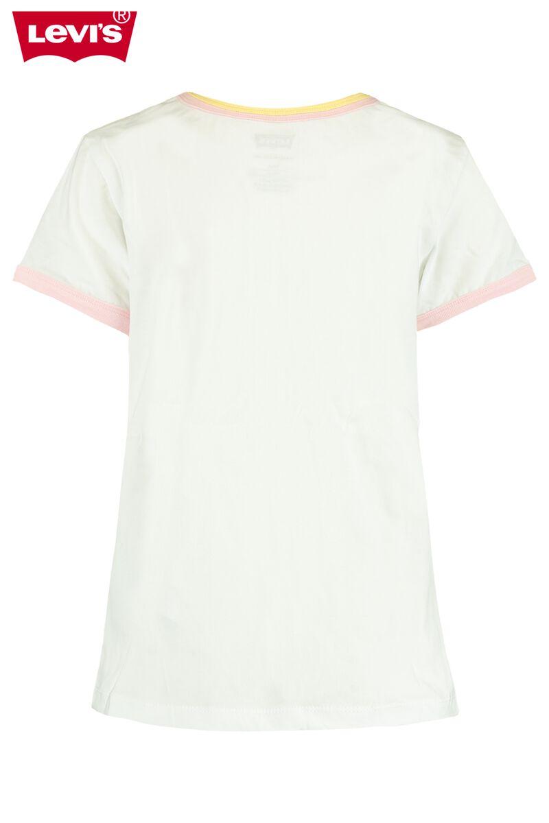 T-shirt Rainbow Ringer Top