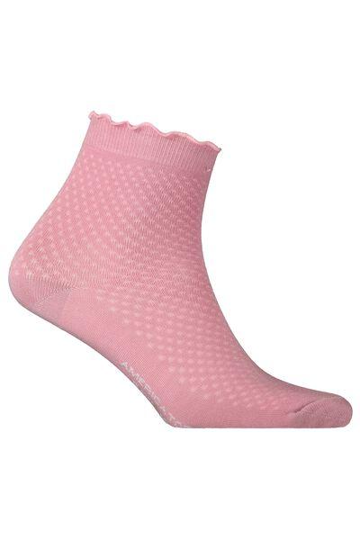 Socken mit Rüsche