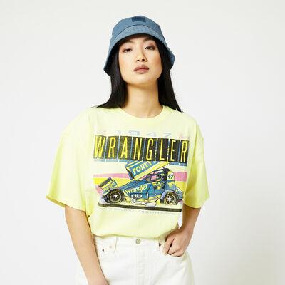 T-shirt Wrangler Boxy tee