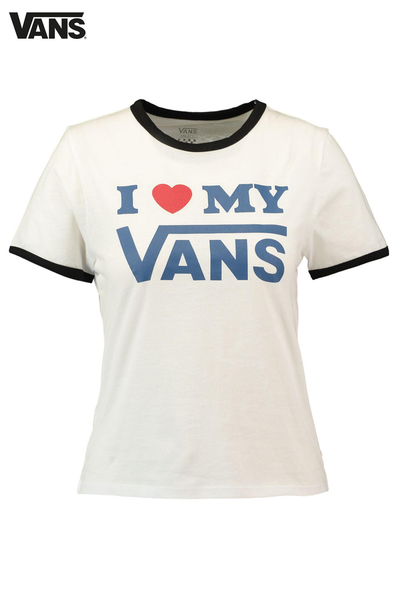 alhaisempi hinta suosituin säästää Women T-shirt Vans Love Black Buy Online