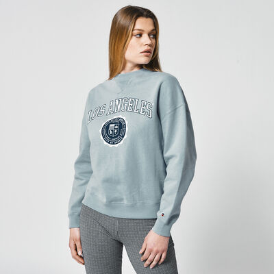 Sweatshirt mit Text-Print
