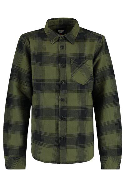 Overhemd ruitprint