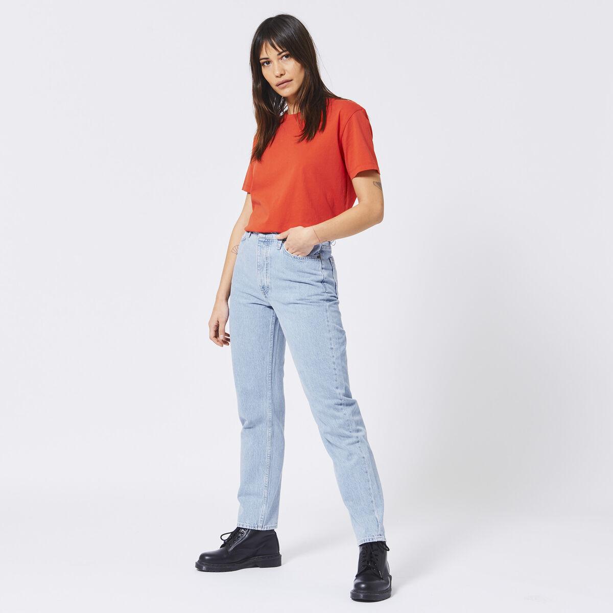 6f4956fc Women Basic T-shirt Elijn Red Buy Online