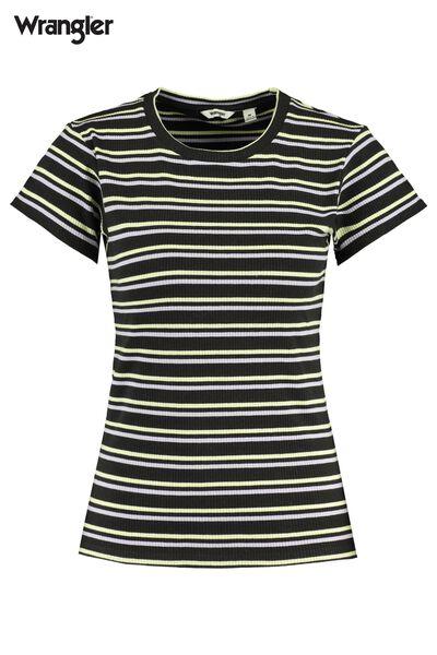 Wrangler t-shirt Slim stripe
