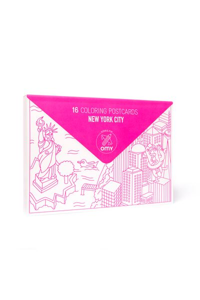 Gift OMY New York Postcards