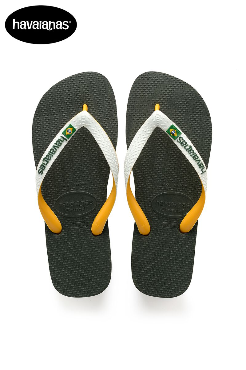 5d1073df1967f Men Havaianas Brasil Mix Green Buy Online
