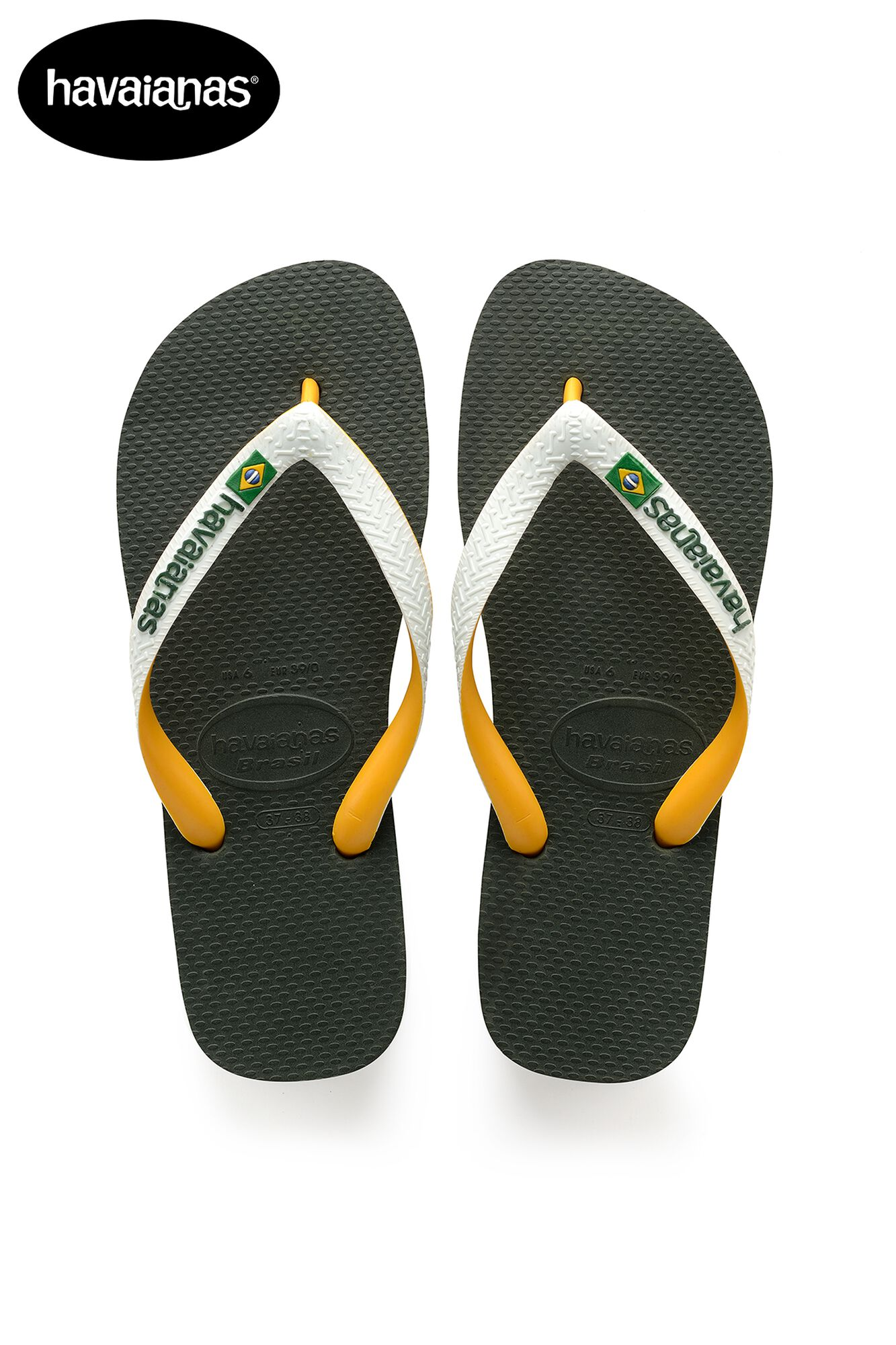 79acf3963b8e Men Havaianas Brasil Mix Green Buy Online