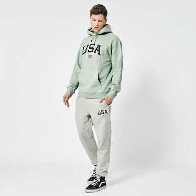Joggingbroek USA borduring