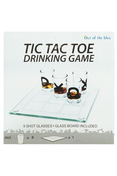 Glass drinking game