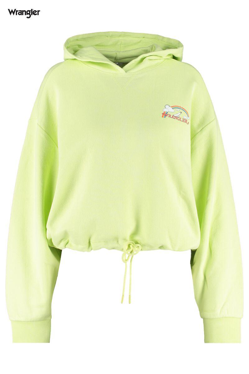 Sweat a capuche Drawcord waist hoody