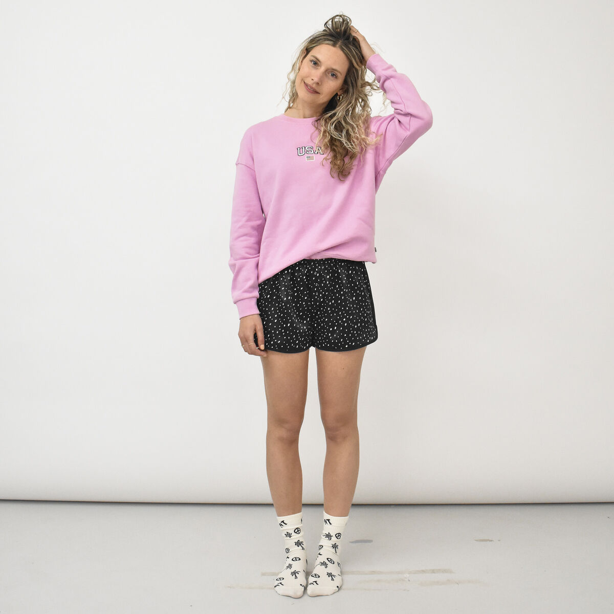 Short de pyjama Lulu Dots