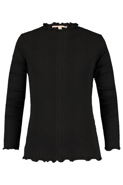 Long sleeve stand-up collar