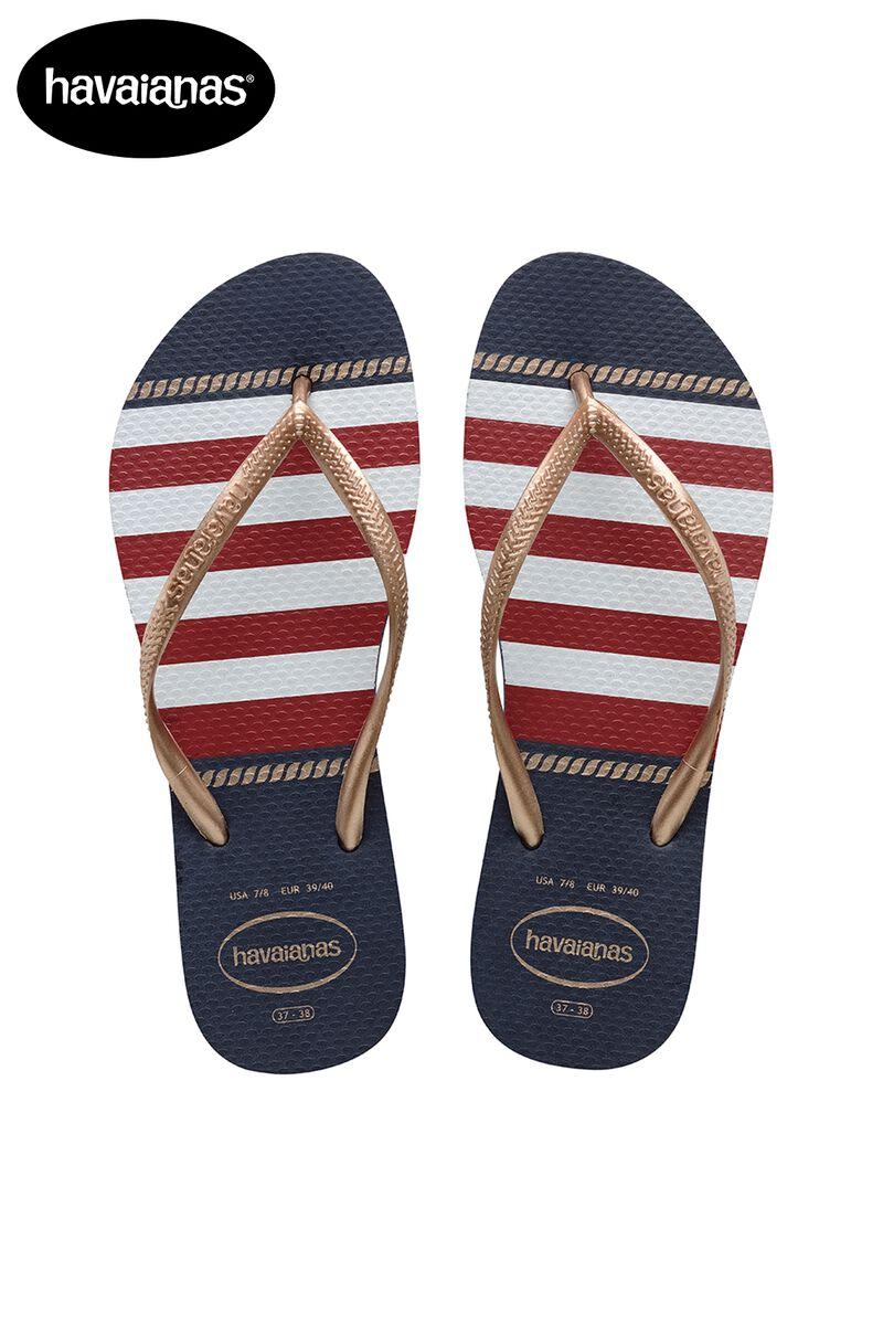 buy sale new specials exquisite design Women Havaianas Slim Nautical Blue Buy Online