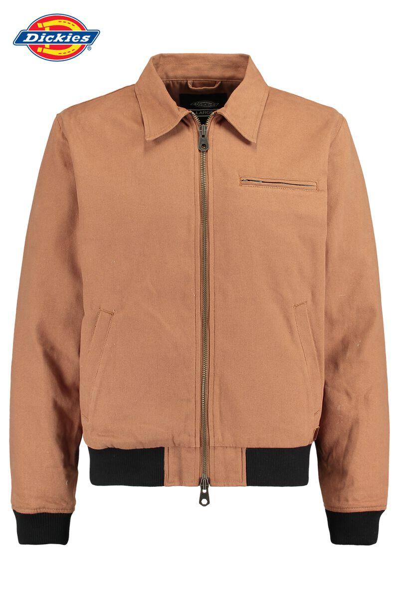 7ca940a50719ab Men Bomber jacket Dickies Upperglade Brown Buy Online