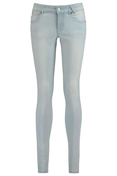 Skinny jeans Mid waist met stretch en lichte wassing