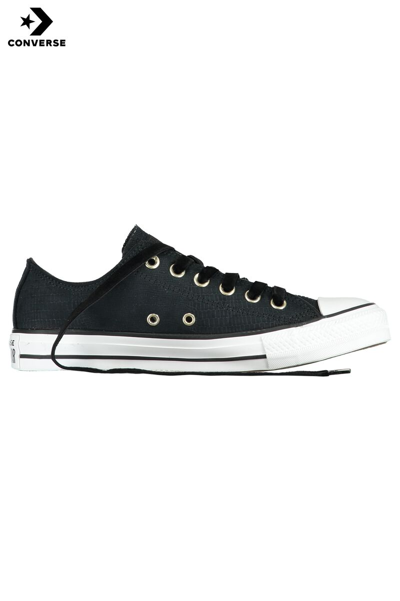 66cb1e28e53f Women Converse All Stars Chuck Taylor- OX Black Buy Online