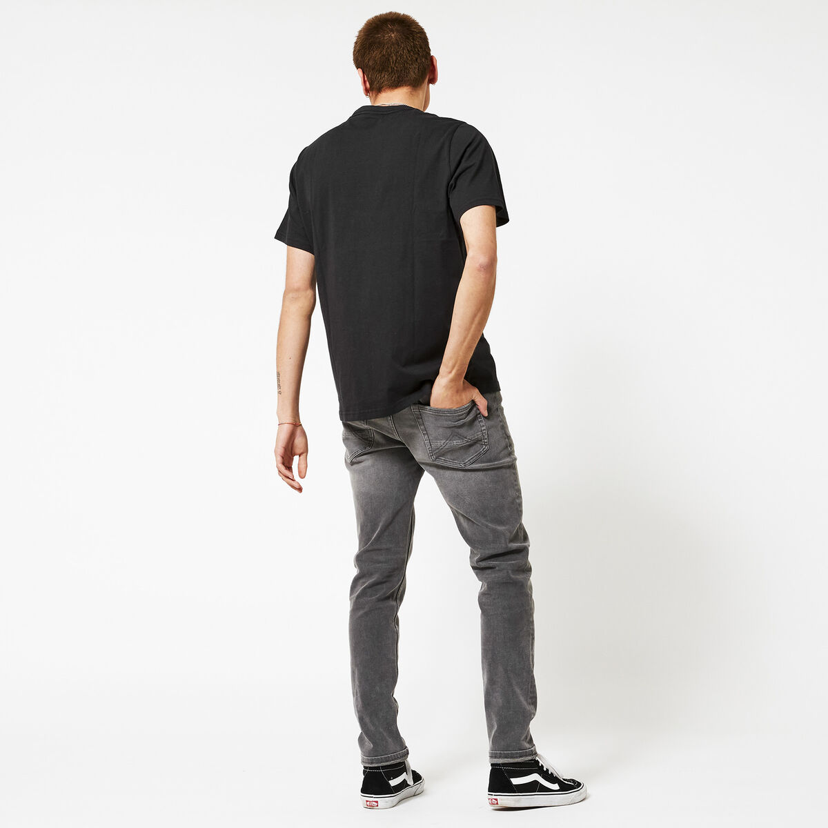 Relaxed boxtab tee