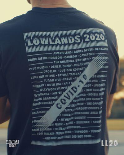 T-shirt Lowlands line up