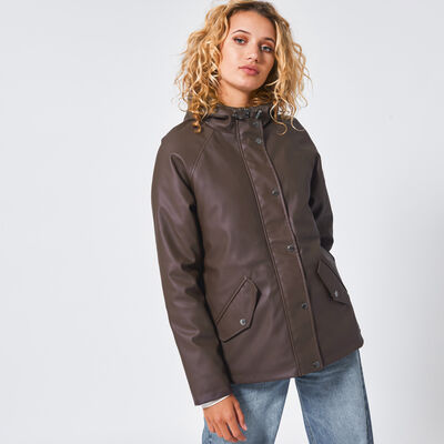 Rain jacket Janet Teddy short