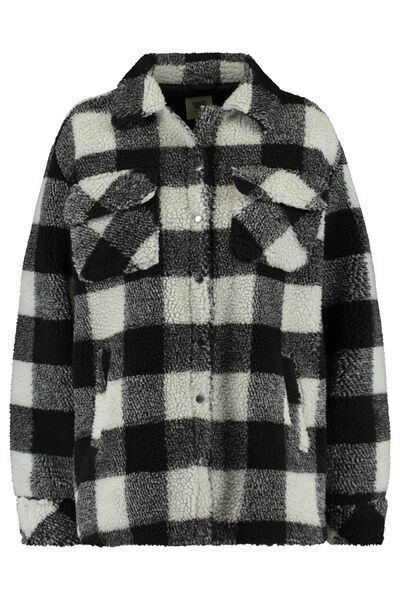 Jacket with teddy lining