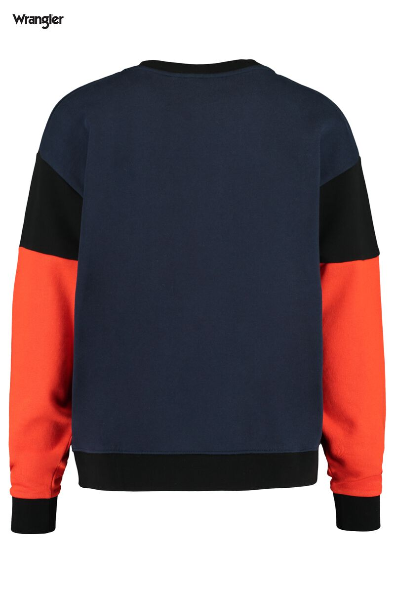 Sweater High rib Retro sweat
