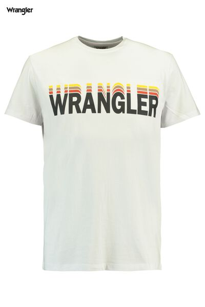 T-shirt Wrangler graphic