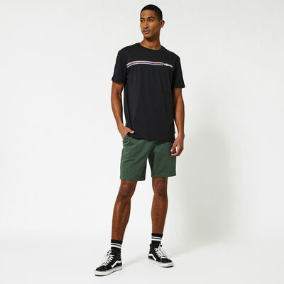 Sweat short with drawstring