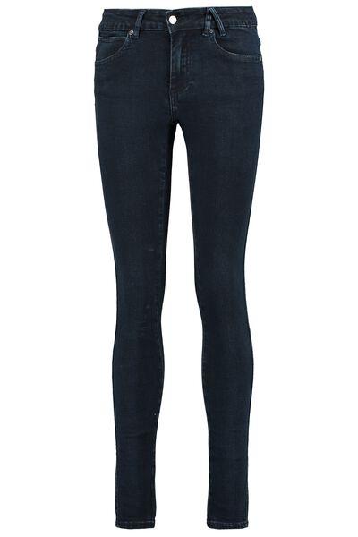 Skinny jeans mid waist stretch