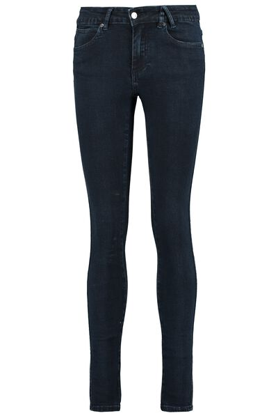 Skinny jeans taille medium stretch