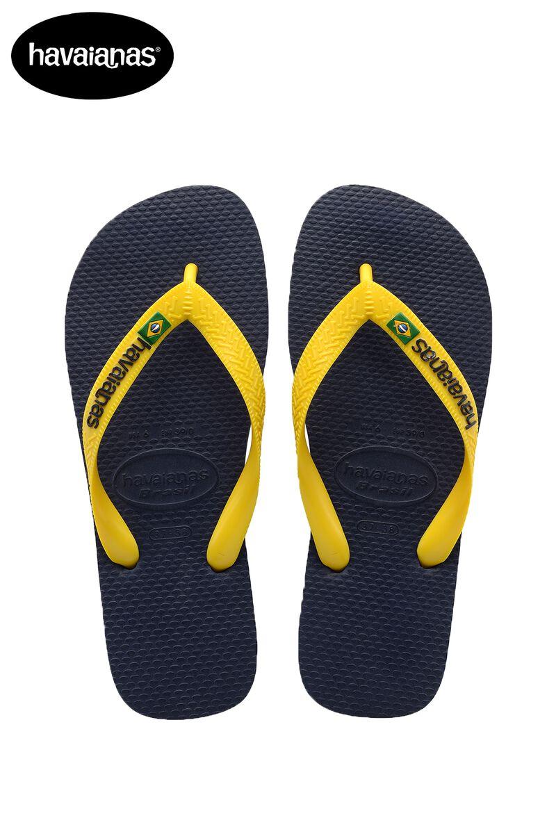 sports shoes 03fb0 77c16 Herren Havaianas Brasil logo slippers Blau Online Kaufen
