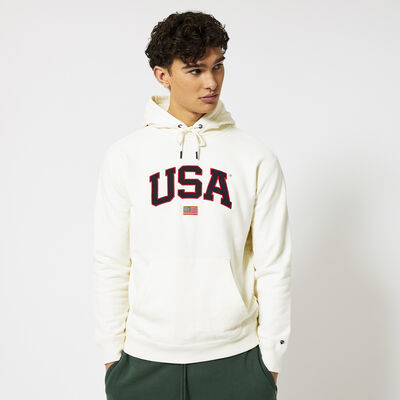 Hoodie USA embroidery