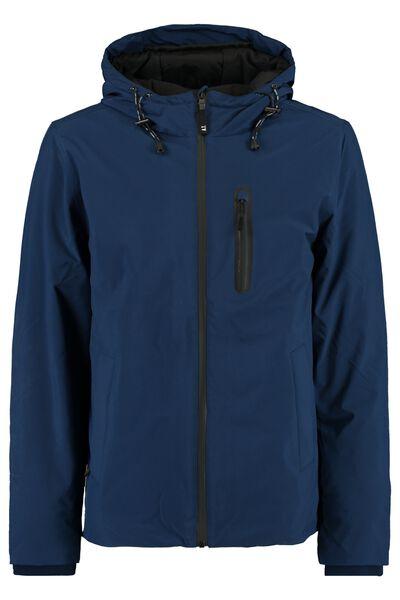Jacket Joris with hood and chest pocket and fleece lined slit pockets