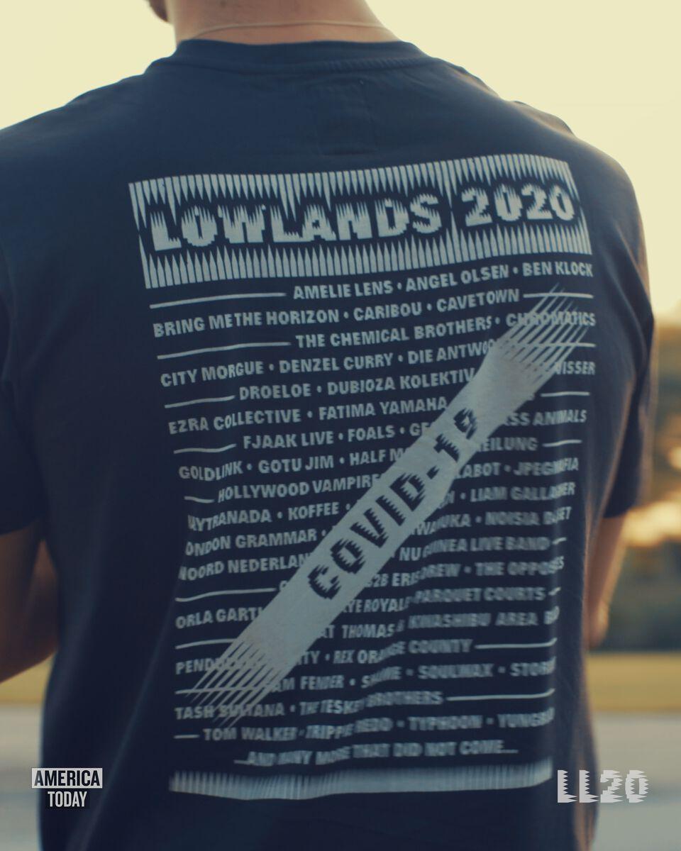 T-shirt E-LineUp LL
