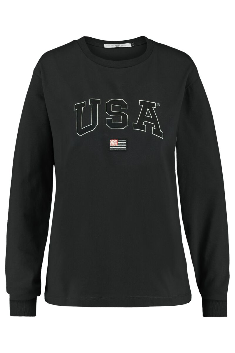 Long sleeve Lyona USA LS tee