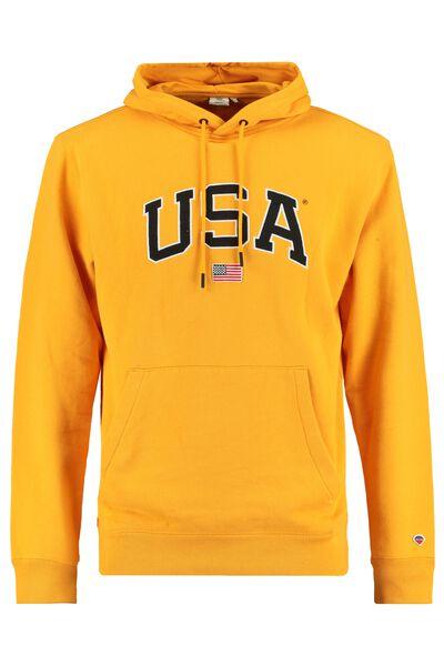 Hoodie USA borduring