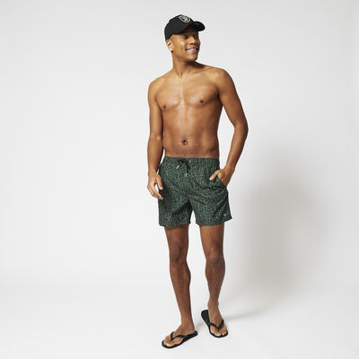 Swimming trunks with all-over print