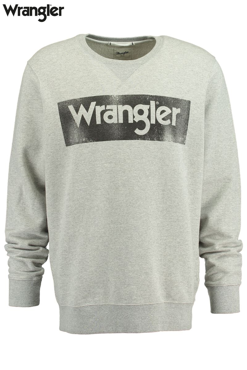 Sweater Wrangler Logo Crew