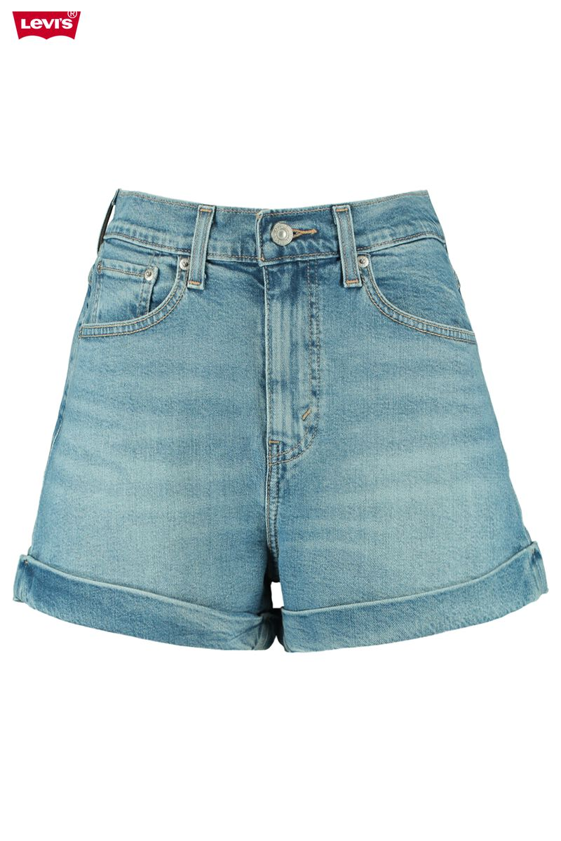Denim short Mom Aline short 2