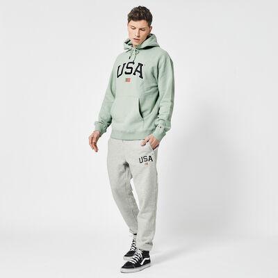 Jogginghose USA Stickerei