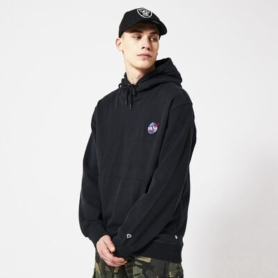 NASA hoodie with embroidery