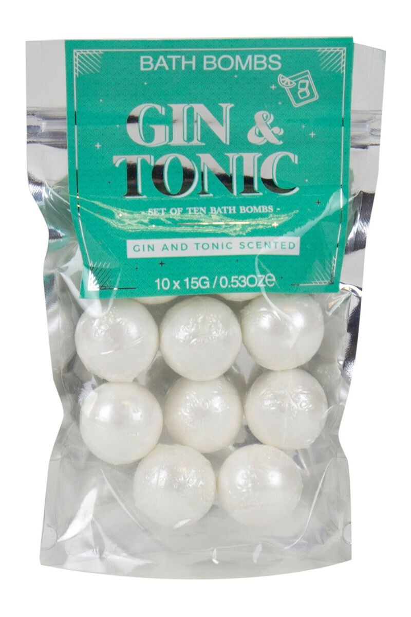 Gift Gin Tonic Bath Balls