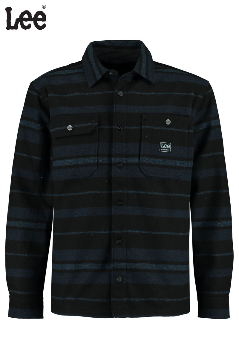 Chemise Box pocket overshirt