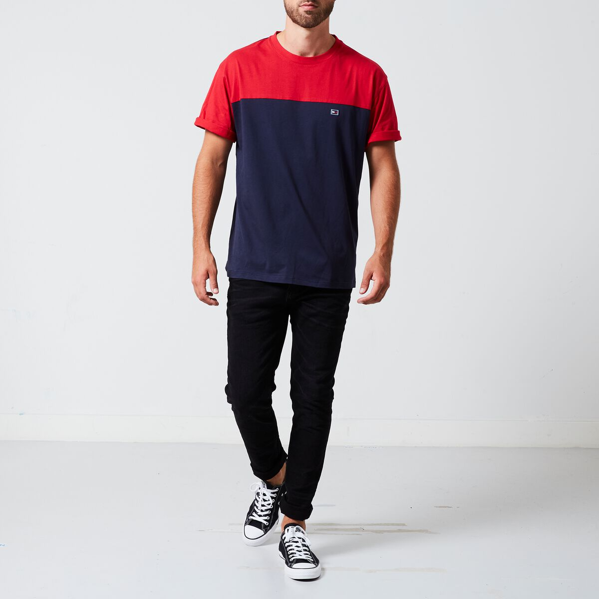 f9c91057 Men T-shirt Tommy Hilfiger True tommy Red Buy Online