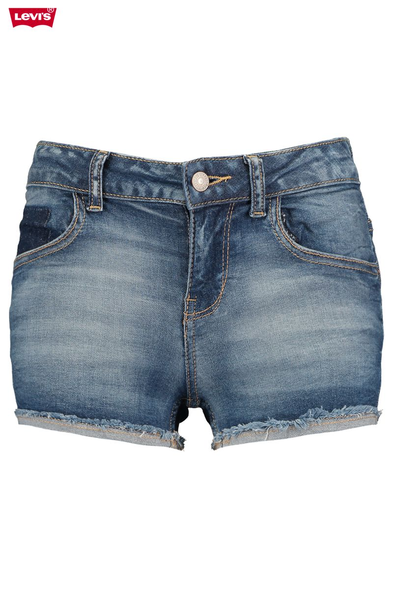 aeffb79bf7 Girls Denim short Levi's Moldu Blue Buy Online