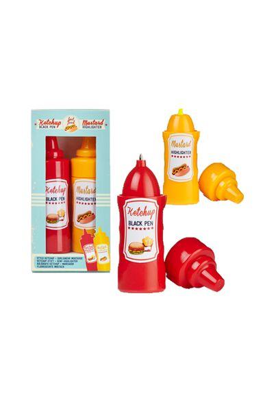 Gift Mustard Ketchup pen