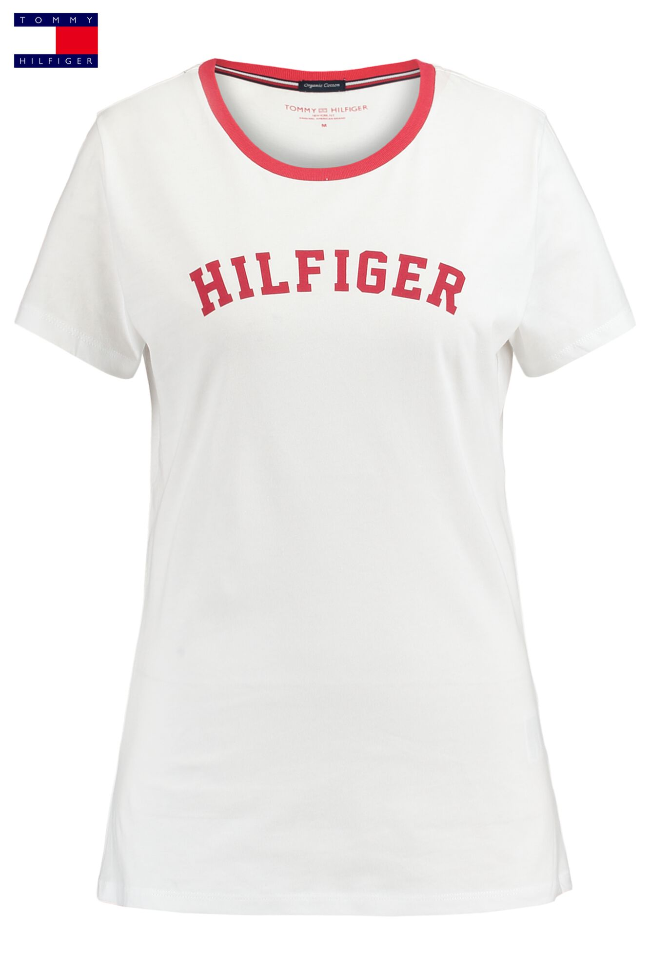 finest selection 0c741 1f7d3 Women T-shirt Tommy Hilfiger Red Buy Online