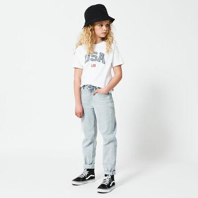 Lockeres Bein Jeans
